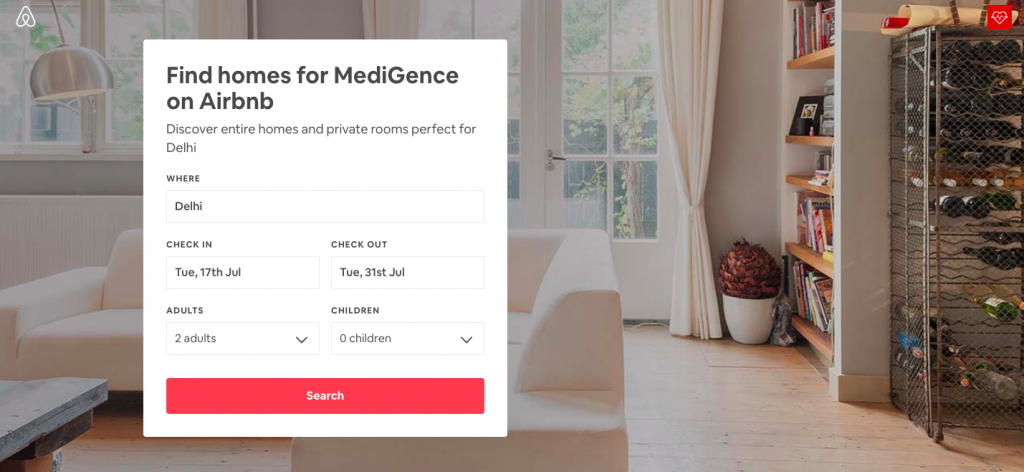 AirBnb partners with MediGence