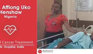 Successful Cervical Cancer Treatment in India: A Case Study (Affiong Henshaw From Nigeria)