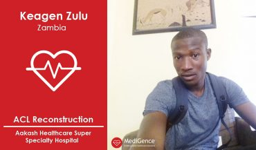 Successful ACL Reconstruction Surgery in India: A Case Study (Keegen Zulu from Zambia)