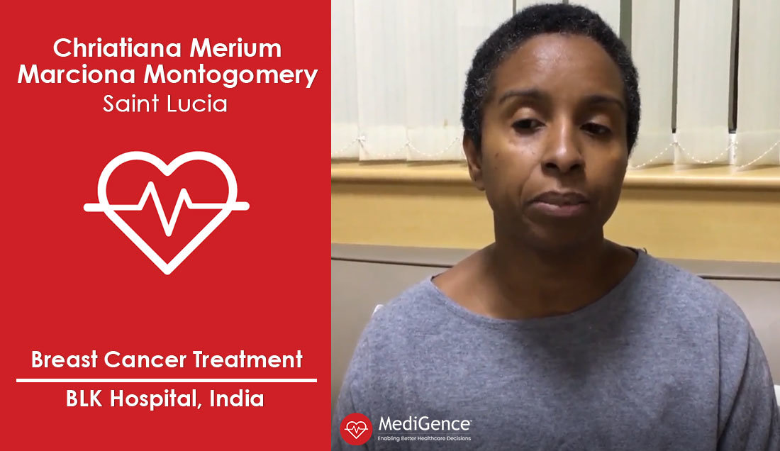 Successful Breast Cancer Treatment in India: A Case Study (Christiana Montgomery from Saint Lucia)