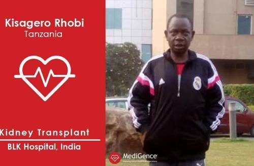 Successful Kidney Transplantation in India: A Case Study (Kisagero Rhobi from Tanzania)