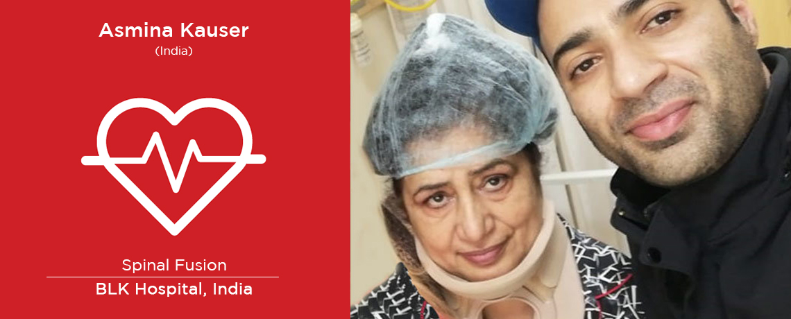 Successful Destabilized Neck Joint Treatment: A Case Study (Asmina Kauser from India)
