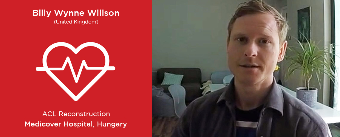 Patient Story: Billy Wynne Willson from UK   ACL Reconstruction Surgery   Hungary