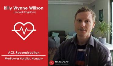 Patient Story: Billy Wynne Willson from UK | ACL Reconstruction Surgery | Hungary