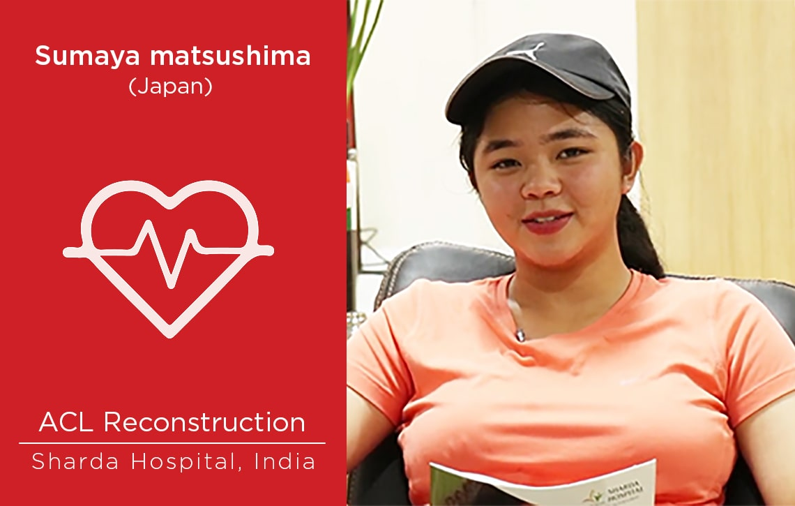 Patient Story: Patient from Japan underwent ACL Reconstruction Surgery in India