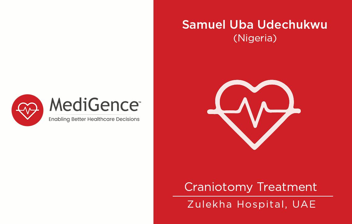 Patient Story: Patient from Nigeria underwent Craniotomy in Sharjah, UAE