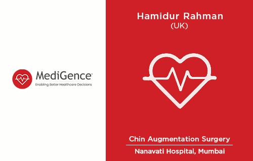 Patient Story: Hamidur Rehman underwent Chin Augmentation in India