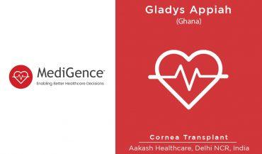 Patient Story: Patient from Ghana underwent Cornea Transplantation in India