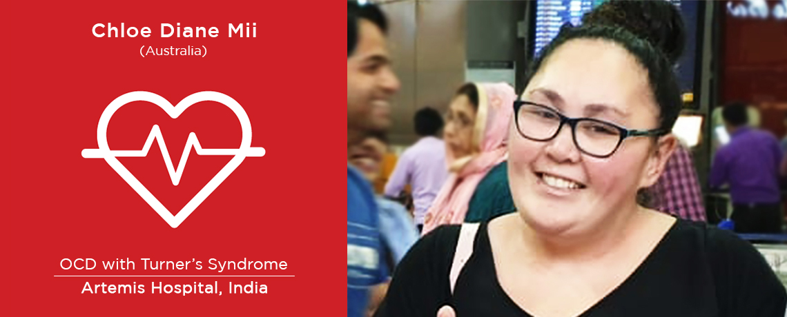 Chloe Diane from Australia underwent DBS Surgery in India