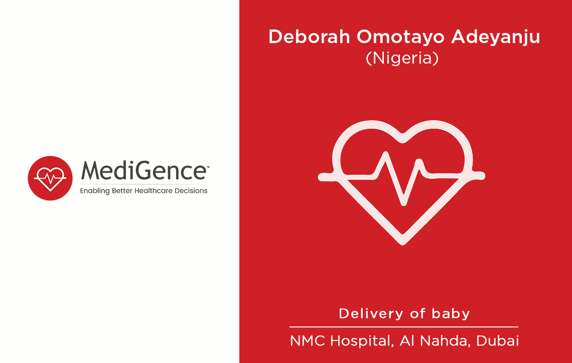 Patient Story: Deborah from Nigeria gave birth to a beautiful baby in Dubai