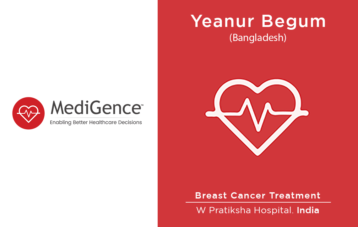 Patient Story: Patient from Bangladesh underwent Breast Cancer Treatment in India