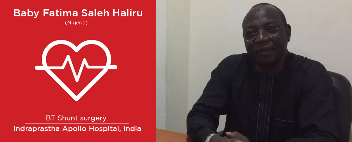A Patient from Nigeria underwent a VSD Closure Surgery in India