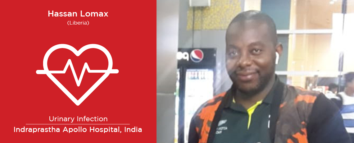 Patient from Liberia Underwent a Treatment in India for Urinary Retention
