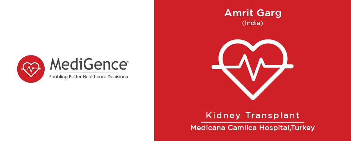 Amrit Garg - Kidney Transplant in Turkey