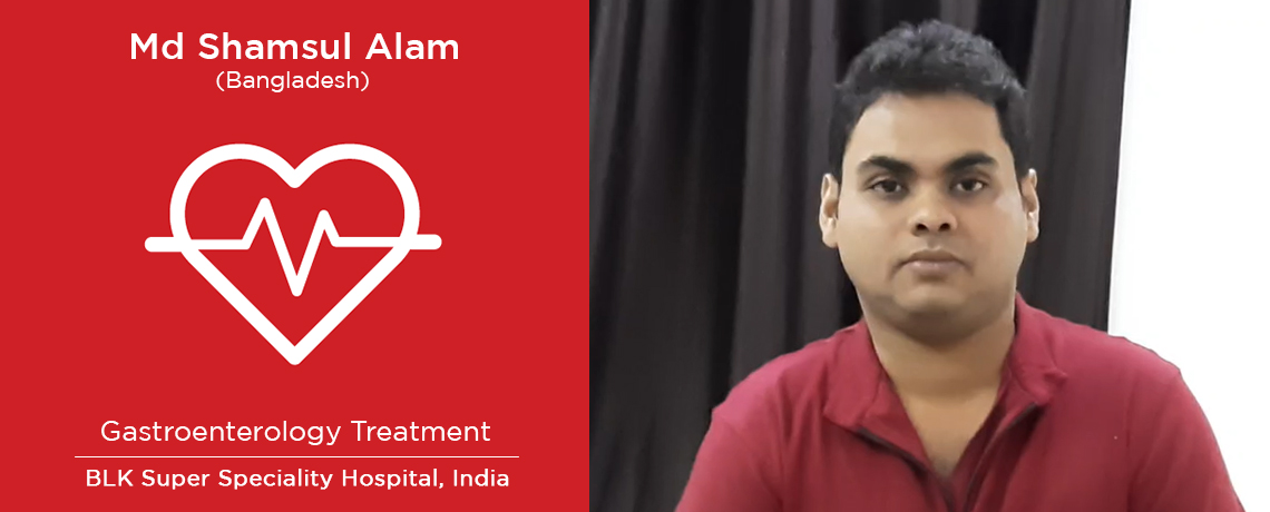 Shamsul Alam - Gastroenterology Treatment in India