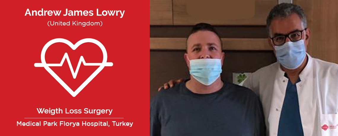 Andrew James - UK to Turkey - Sleeve Gatrectomy