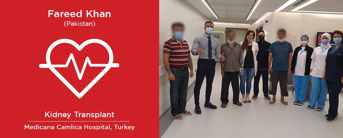 Fareed Khan - Kideny Transplant in Istanbul