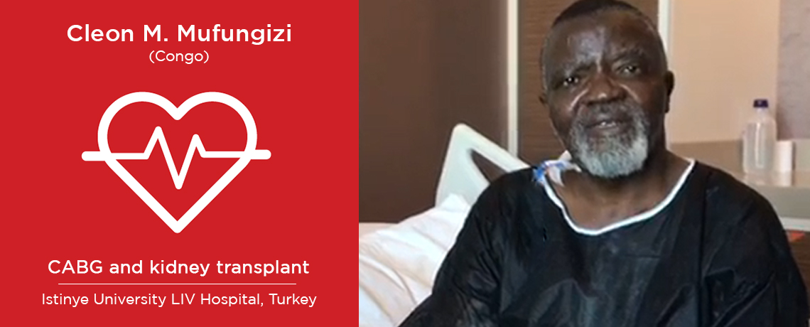 Cleon Masumbuko - CABG - Congo to Turkey