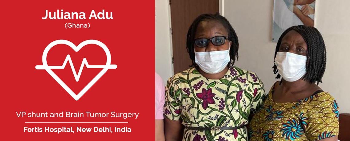 Patient Testimonial | Juliana Adu Underwent Hydrocephalus and Brain Tumor in India