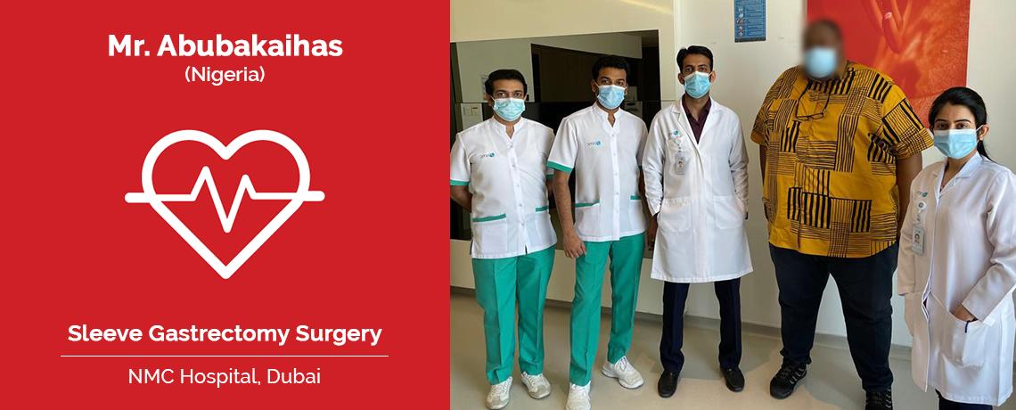 Patient Testimonial   Mr. Abubakaihas Underwent Sleeve Gastrectomy Surgery in NMC Hospital, Dubai