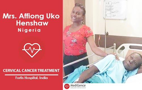 Patient Testimonial: Mrs Henshaw from Nigeria underwent Cervical Cancer Treatment in India