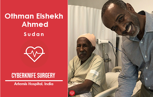 Patient Testimonial: Othman Elshekh Ahmed from Sudan
