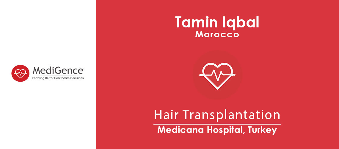 Patient Testimonial: Tamin from Morocco for Hair Transplantation Surgery in Turkey